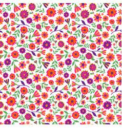 dia de los muertos seamless pattern with vector image