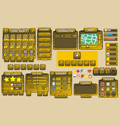 Game gui 29 vector