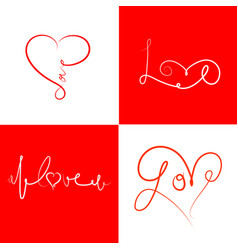 Icons-for-valentines-day-2 vector