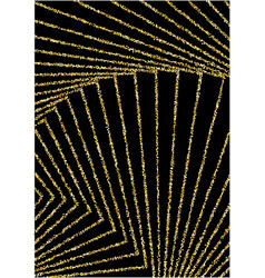 Luxurious background with shiny golden confetti vector