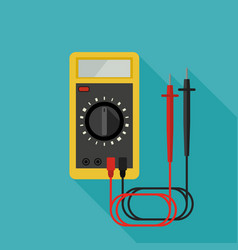 Multimeter flat icon vector