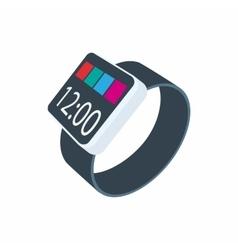 Smartwatch icon cartoon style vector image