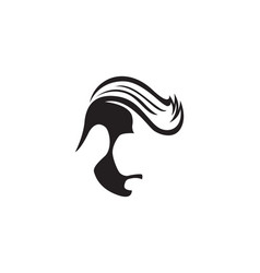 style haircut icon vector image