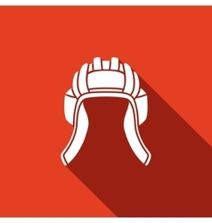 Tankman hat icons vector image
