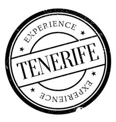 Tenerife stamp rubber grunge vector