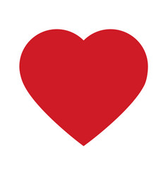 love heart passion romance emotion happy vector image