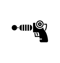 Gun plasma - star wars icon vector