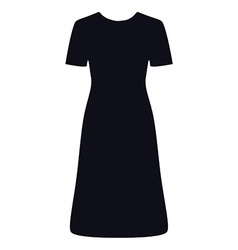 Litttle black dress vector image