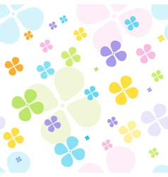 Spring Clover Background vector image vector image