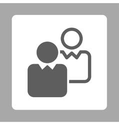 Clients icon vector