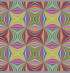 Colorful abstract hypnotic seamless striped vector