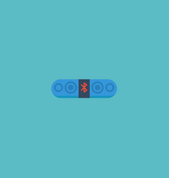 flat icon loudspeaker element vector image