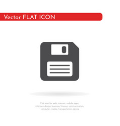 save icon for web business finance and vector image