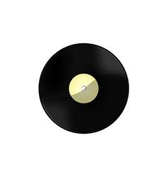 Vinyl white vector