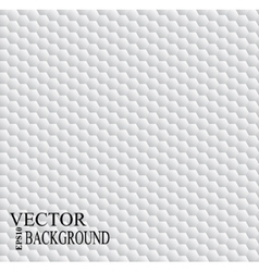 White hexagon abstract geometric seamless pattern vector image