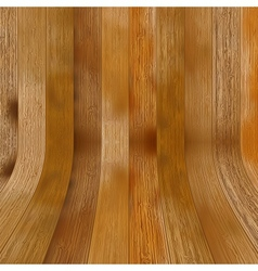 Brown wooden laminate as a background EPS8 vector image vector image