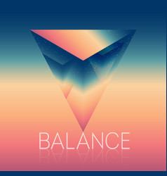 A symbol life balance stability or skill vector