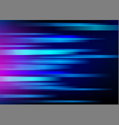 Abstract blue background with light horizontal vector