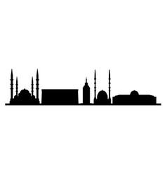ankara skyline vector image
