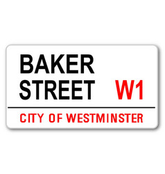 Baker street vector