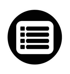 Expand menu icon design vector