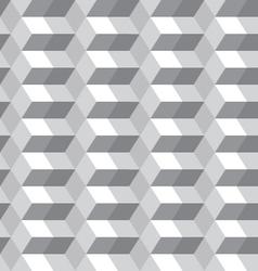 gray hexagon seamless vector image