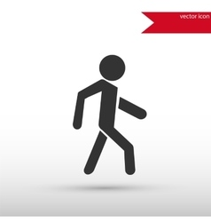 Man icon Pedestrian symbol vector