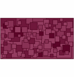 Squares in various shades of burgundy background vector