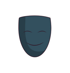 Theater face icon vector