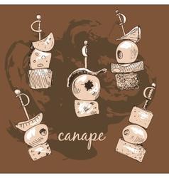 Canape vector