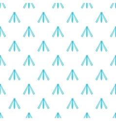 Folding knife pattern cartoon style vector image vector image