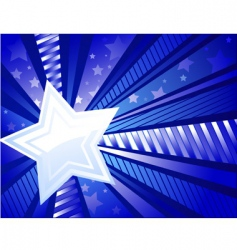 white star vector image vector image