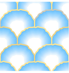 abstract pattern light blue and yellow colored vector image
