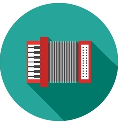 Accordion vector image