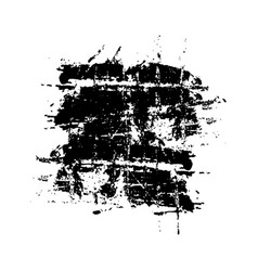 Black grunge banner overlaying background vector