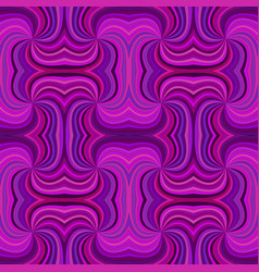 purple abstract hypnotic seamless striped spiral vector image