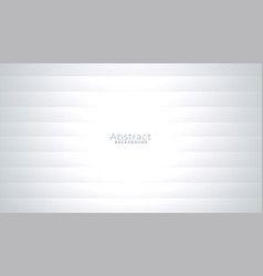 Shiny white and gray simple background with lines vector