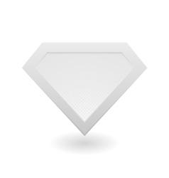 Super hero logo vector image