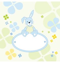 Bunny Rabbit Background vector image