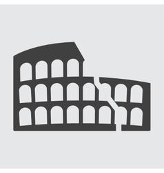 Colosseum icon vector image