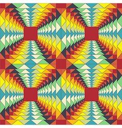 geometric pattern fractal vector image