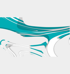 abstract background with fluids and multicolor vector image