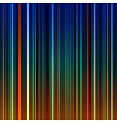 Abstract striped orange and green background vector image