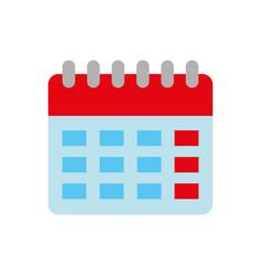 calendar plan reminder date icom vector image