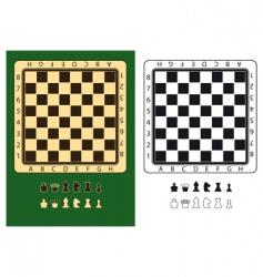 Chessboards vector