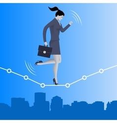 Equilibrium business concept vector