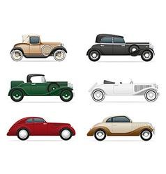 old retro car 06 vector image vector image