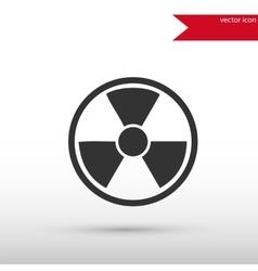 Radiation icon Danger concept vector image