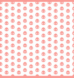 seamless pattern with pig heels vector image