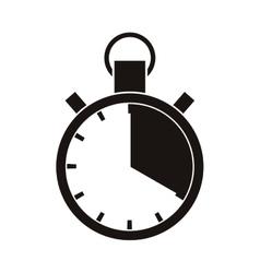 Sport chronometer timer vector image